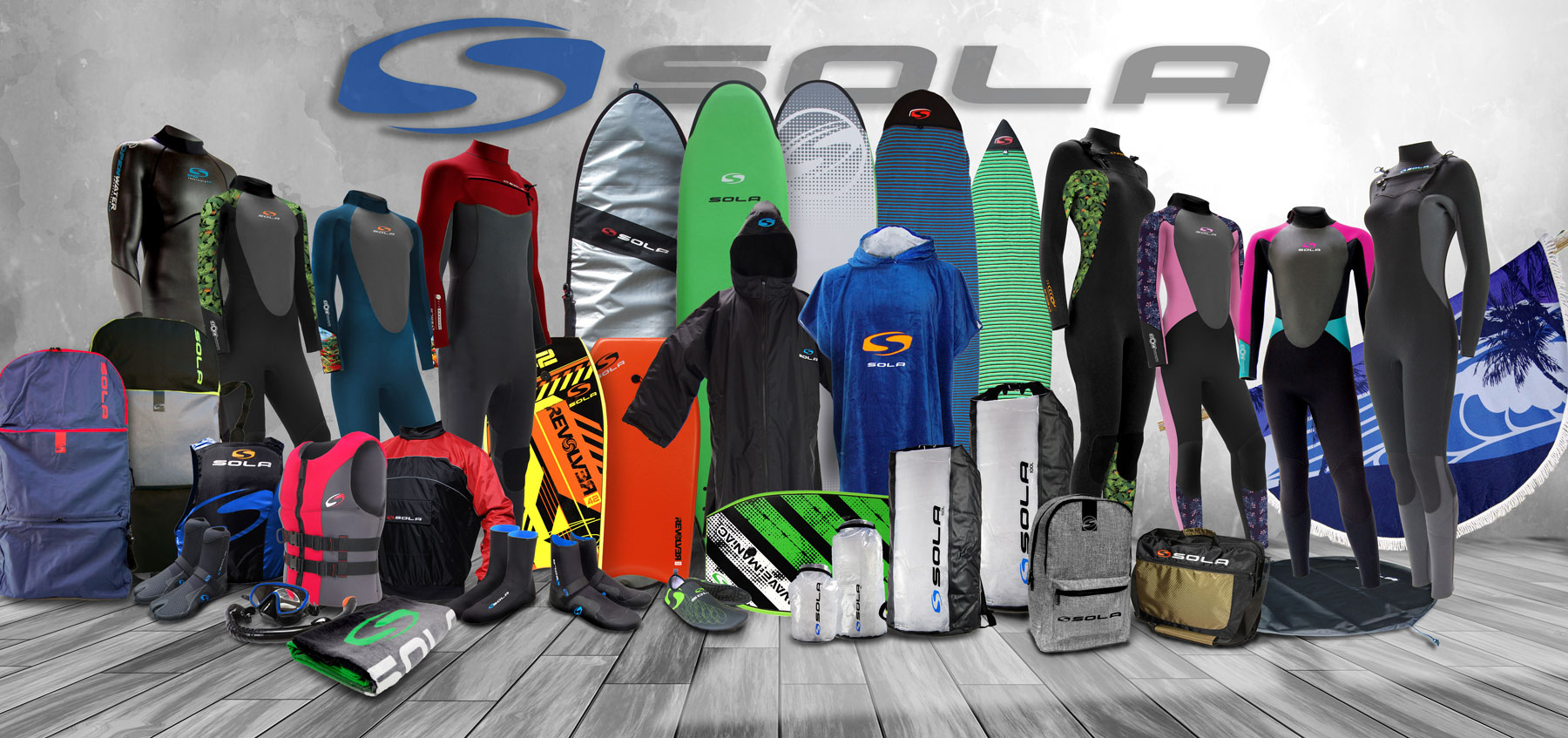 Sola Wetsuit and Watersports Products 2020