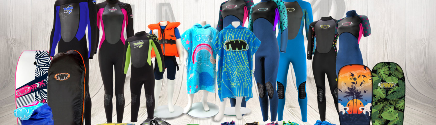 TWF Wetsuit and Beach Products 2020